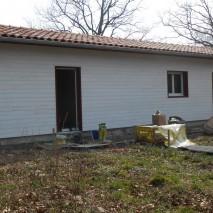 Maison à ossature bois – Chantier D / Anhaux