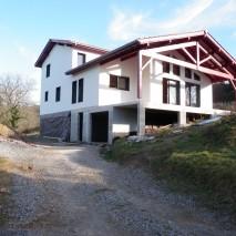 Maison à ossature bois – Chantier H / Bussunarits