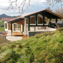 Maison à ossature bois – Chantier I / Bussunarits